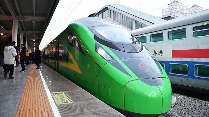 cn's bullet train starts in lanzhou chongqing 1