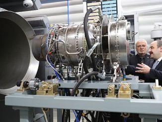 В Эскишехире был проведен первый национальный вертолетный двигатель