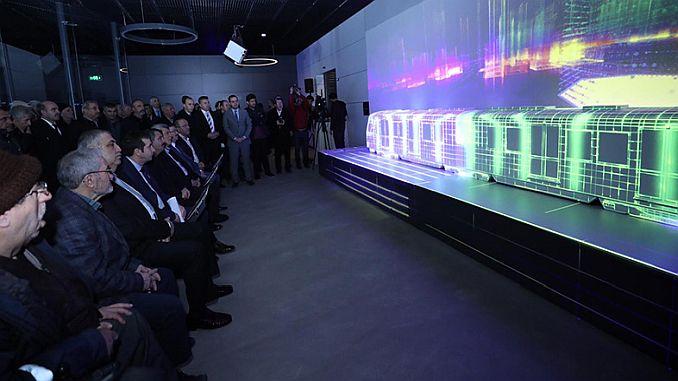 gebze kbinle metro tour started in virtual environment