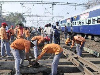 63-Millionen-Antrag für 19-Tausend Eisenbahnarbeiten in Indien