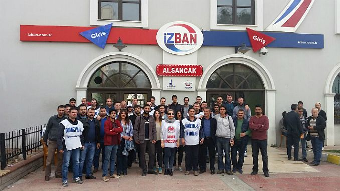 Izmir bar reacts to ban of izban strike