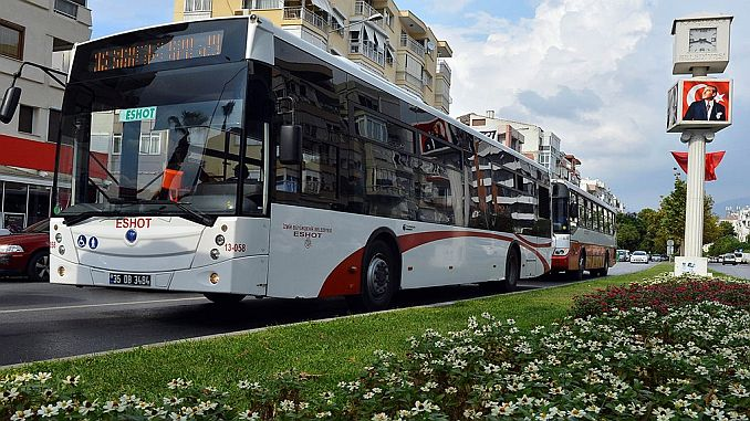 Eshot in Izmir started a strike