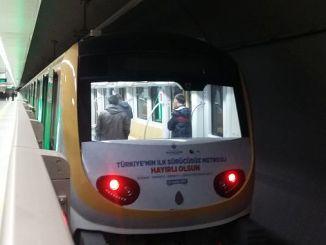 test suruses start on kabatas mahmutbey subway line