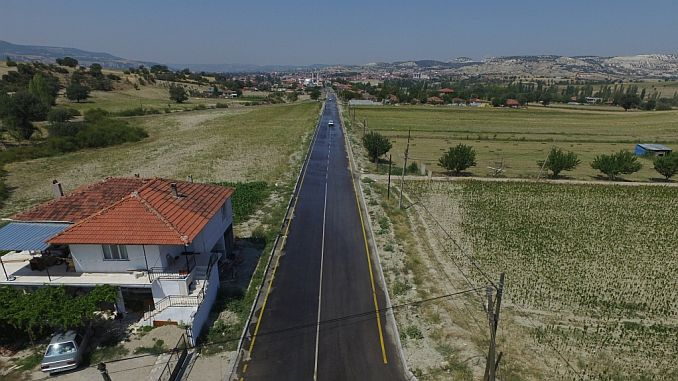 manisanin selendi ilcesine 47 milyon liralik asfalt yatirimi