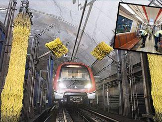 U-Bahn U-Bahn mit der saubersten U-Bahn immer sauber