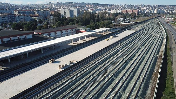 samsun cross-train train service begins