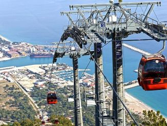tunektepe ropeway 790 has moved a thousand people to peak