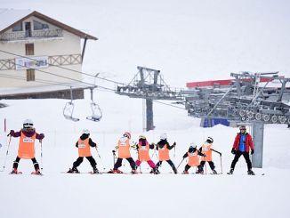 the largest ski school turkiyenin
