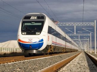 240 km ti single-géologi insinyur banaz manisa-speed tinggi garis rail