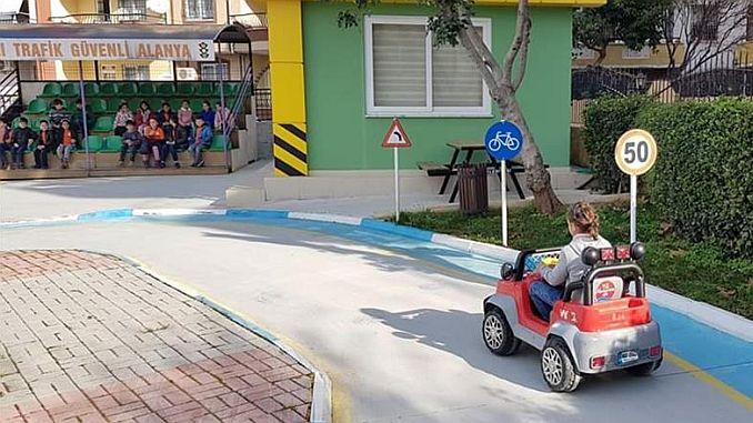 alanya traffic training parkinda 2 donem began