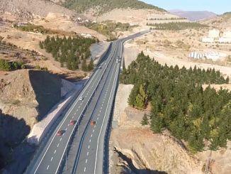 amasya cevre yolu landlide islahi kopru ustyapi