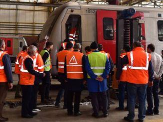 Обука за безбедност при работа за персоналот на железничките системи