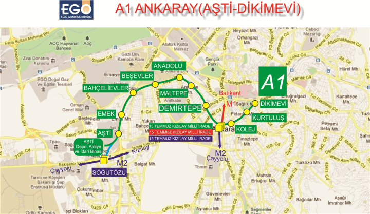 ankaray stations ankara
