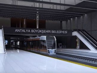 antalya subway will be 25 km long