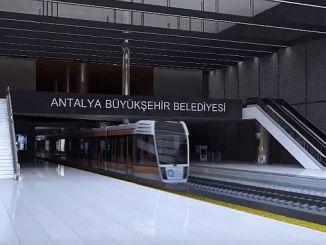antalya metroen vil være 25 km lang