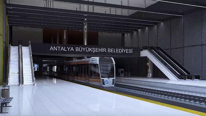 antalya metrosu 25 km uzunlugunda olacak