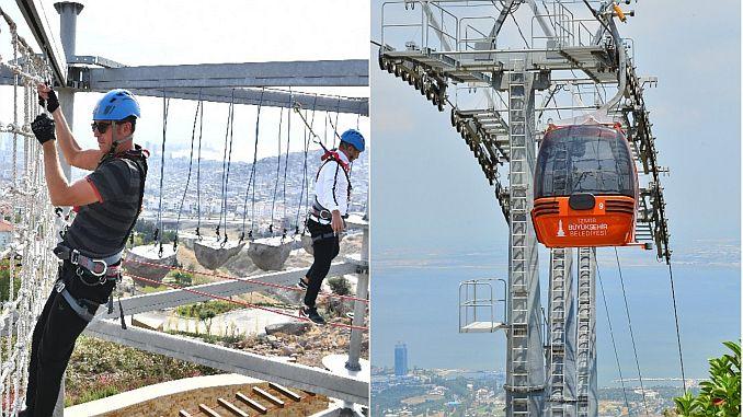 balcova cable car and adventure park break
