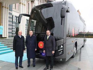 bmcden për president autobus të veçantë blinduar