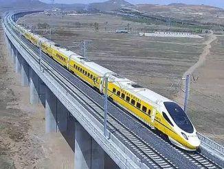 Die erste öffentliche private Partnerschaft mit der Schnellzuglinie beginnt zu tun