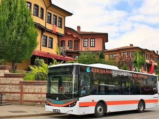 нов автобус до Градската болница Ескишехир Гузерџи