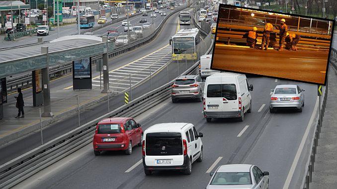ibbden metrobus guzergahina flexible barrier