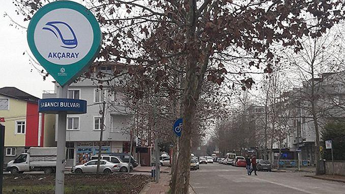 tramway signage
