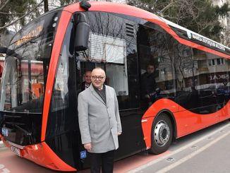 testis de autobuses electricos continúan