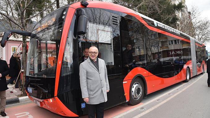 testis električnih autobusa se nastavlja