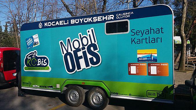mobil ofis hizmetiyle kent kart alimi kolaylasiyor