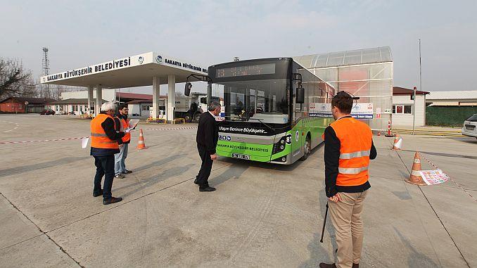 transporte público autobús bus bus calificación profesional pruebas continuadas
