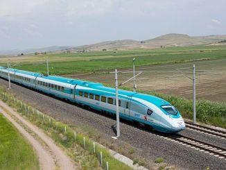les línies de tren d'alta velocitat mapen 1