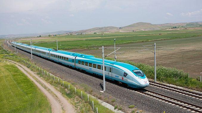 Mapa de líneas de trenes de alta velocidad 1