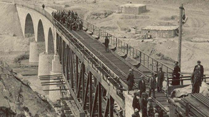 República movilización ferroviaria de Turquía