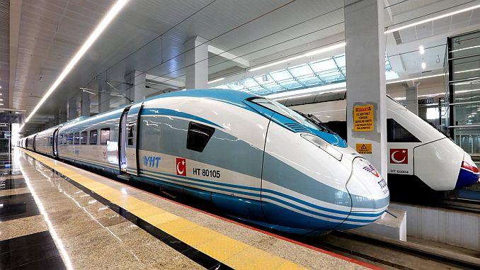 Ankara Gari Eryaman Yht Linie ist noch in Betrieb