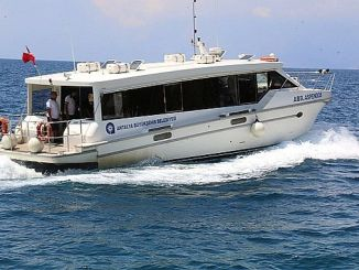 sea ​​bus in Antalya