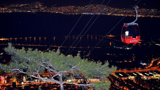 periodical maintenance completed at balcova cable car facilities