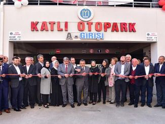 Bilecik car parking lot with emergency car parking was done