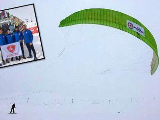 Skifahrer im Weltcup