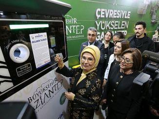 emine erdogan ina uploaded kadi kwa gaziantep