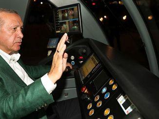 Erdogan Antalya ha realizado una oleada de prueba del sistema de riel escalonado.