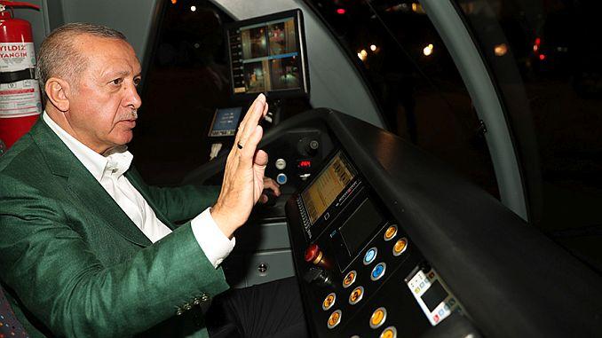 erdogan antalya wykonał testowy skok systemu szyn krokowych