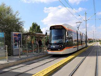 Eskisehir सिटी अस्पताल के लिए ट्राम शुरू