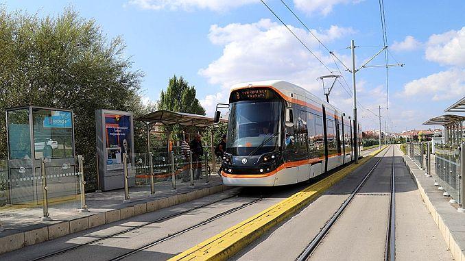 tram to Eskisehir City Hospital starts