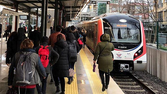 gebze halkali banliyo hattinin ilk yolculari izlenimlerini aktardi