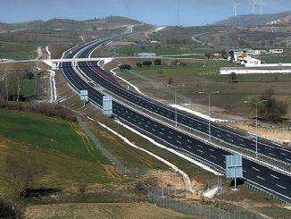gebze orhangazi izmir autobahn wird für einen weiteren schnitt genutzt