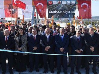 istanbul izmir otoyolunun kilometrelik bolumu daha acildi