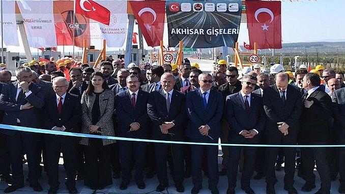 χιλιόμετρο της εθνικής οδού του Ισρμίμ στην Κωνσταντινούπολη
