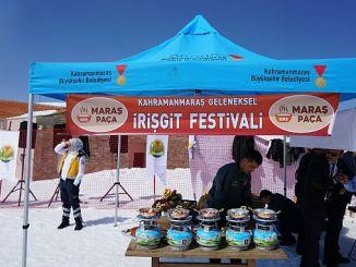 kahramanmaras iriskit festivali yedi kuyular kayak merkezinde yapildi