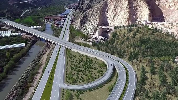 highways trabzon to the city of million TL