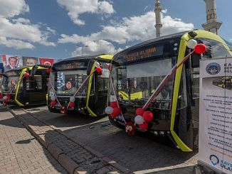 kayseri meet electric buses